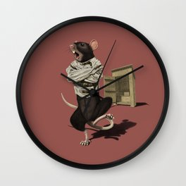 Shithouse (Colour) Wall Clock
