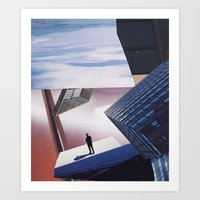 inception Art Prints featuring inception by Mirawek Wolff