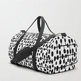 Mid-Century Modern Social Network Duffle Bag