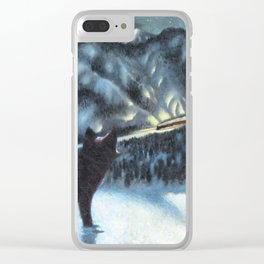The Fur of the Glacial Mouse Clear iPhone Case