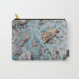 Glacial Ice :: An Alaskan Glacier Carry-All Pouch