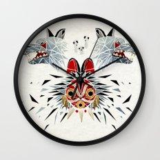 mononoke princess Wall Clock