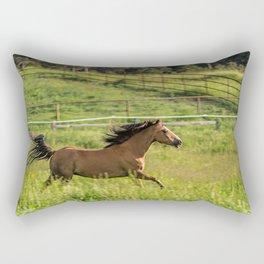 Run Romeo Rectangular Pillow