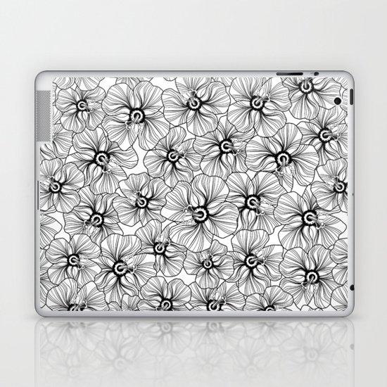 My garden. black and white.  Laptop & iPad Skin