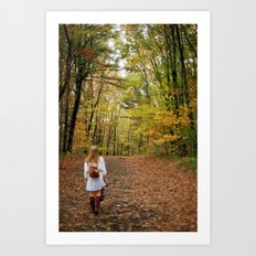 Nature Walks Art Print