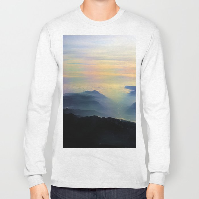 Over the Alps to Venice Long Sleeve T-shirt