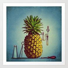 The Pineapple Experiment Art Print