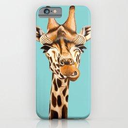 Giraffe Acrylic Painting iPhone Case