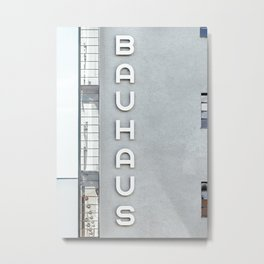 Bauhaus Building in Dessau Metal Print