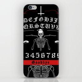 OUIJA Board Skull iPhone Skin