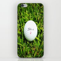 golf iPhone & iPod Skins featuring GOLF by Cooper Designs