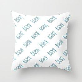 Brave Throw Pillow