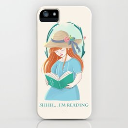 The Book Lover iPhone Case