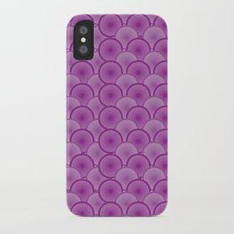 Circular Wave iPhone Case