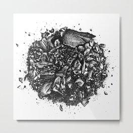 Crush Metal Print