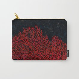 Sea Red Fan Coral Carry-All Pouch