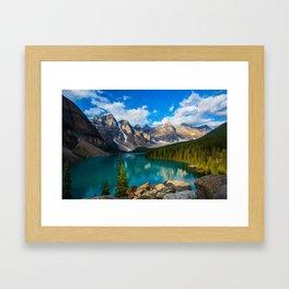Placid lake Framed Art Print