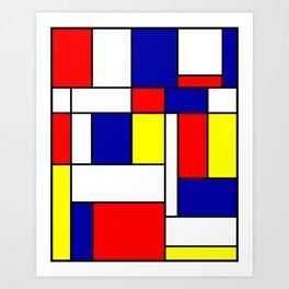Mondrian #38 Art Print
