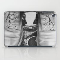 leather iPad Cases featuring Leather Boots by Hall's Emporium
