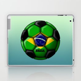 Brasil Ball Laptop & iPad Skin