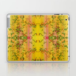 fresh stylized garden Laptop & iPad Skin