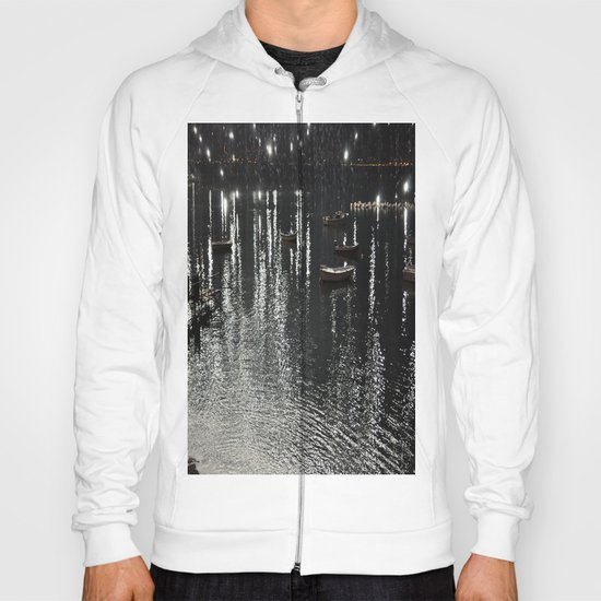 fireworks on the sea Hoody