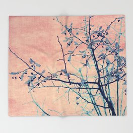 winter whispers Throw Blanket