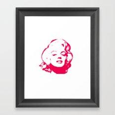 MARILYN POP Framed Art Print