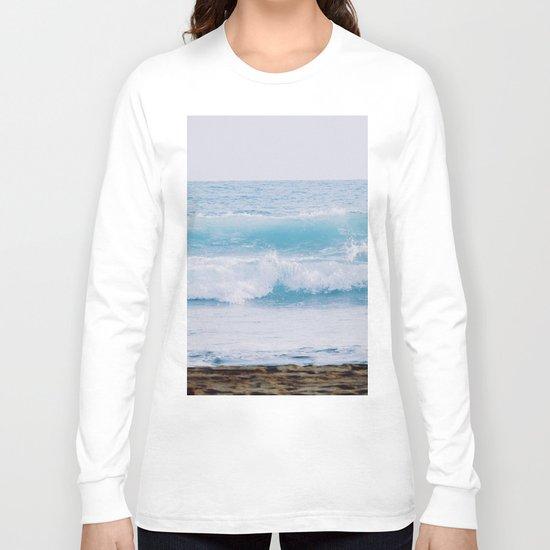 Pastel Ocean #waves Long Sleeve T-shirt