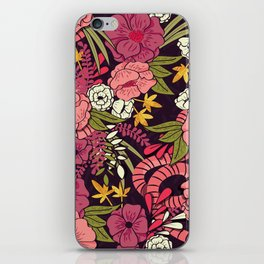 Jungle Pattern 001 iPhone Skin