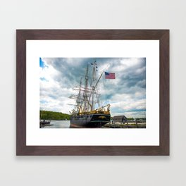 The Last Ship Framed Art Print