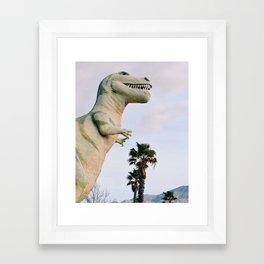 Dino Dino Dino Framed Art Print