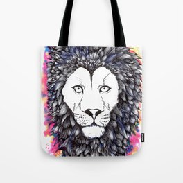 Lion Heart Tote Bag