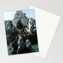 Monument aux girondins 3 Stationery Cards
