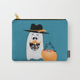Silly Halloween Ghost Wants Your Candy Carry-All Pouch