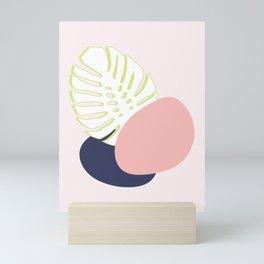 Spring Monstera #society6 #spring Mini Art Print