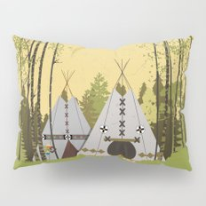 Tipis Pillow Sham