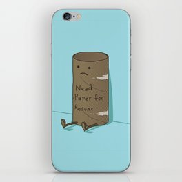 Needs Paper For Resume iPhone Skin