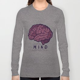 It all begins and ends in your mind. What you give power to has power over you, if you let it. Long Sleeve T-shirt