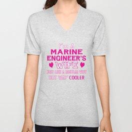 Marine Engineer's Wife Unisex V-Neck