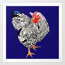 Chicken Art Print
