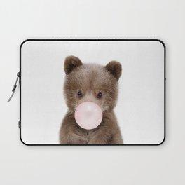 Bubble Gum Bear Cub Laptop Sleeve