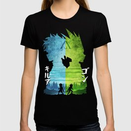 Minimalist Silhouette Gon & Killua T-shirt
