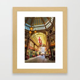 Leadenhall Market, City of London Framed Art Print