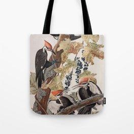 John James Audubon -Woodpecker Tote Bag