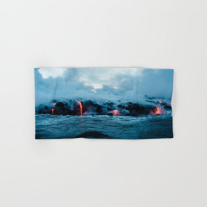 Volcano #ocean Hand & Bath Towel