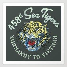 458th Sea Tigers Art Print