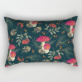 Colorful Forest 1A Rectangular Pillow