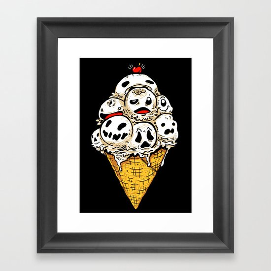 I Scream on Friday the 13th Framed Art Print