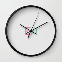 ey! Wall Clock